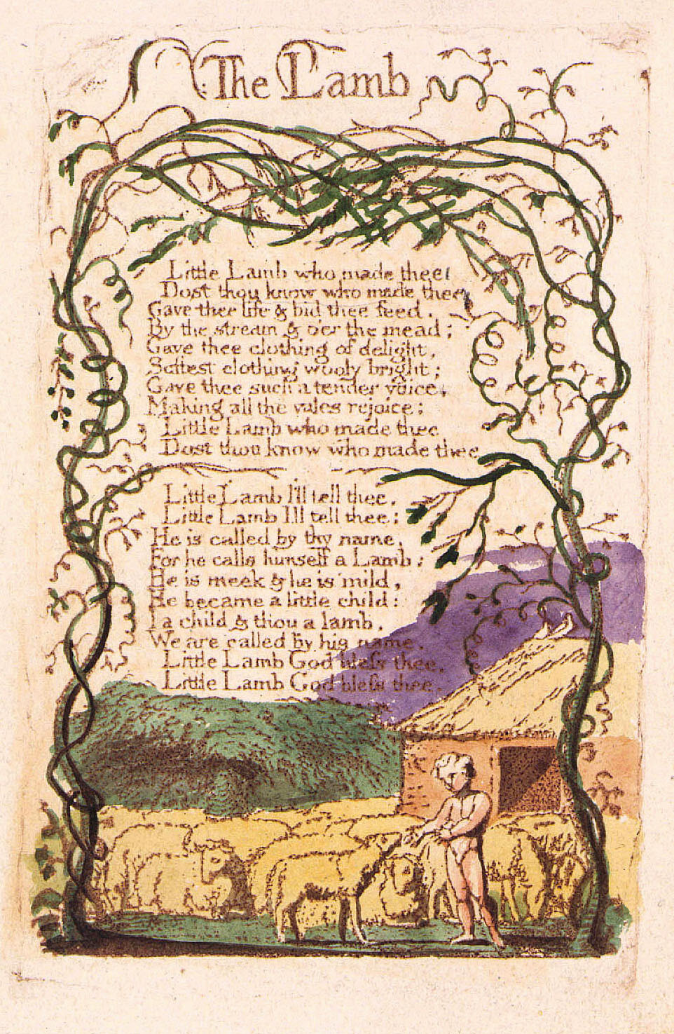 the imagery in the poem the tyger by william blake 1 1794 the tyger (from songs of experience) william blake blake, william (1757-1827) - english poet, engraver, and mystic who illustrated his own works.