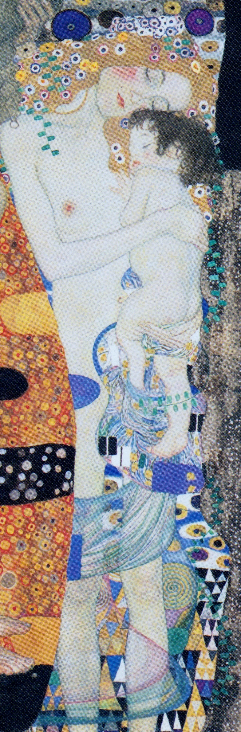 the-three-ages-of-woman-1905Klimt Three Ages Of Woman