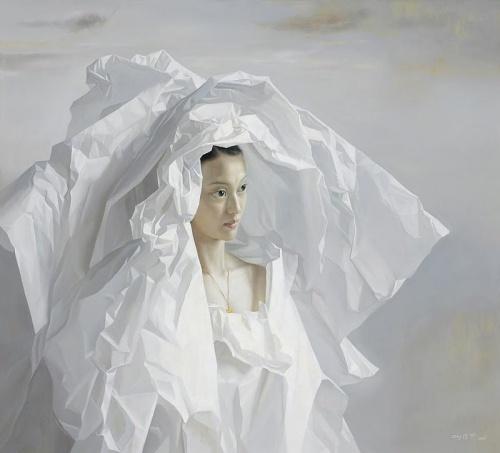 Zeng Chuanxing - Novia de papel - cuadernoderetazos.wordpress.com