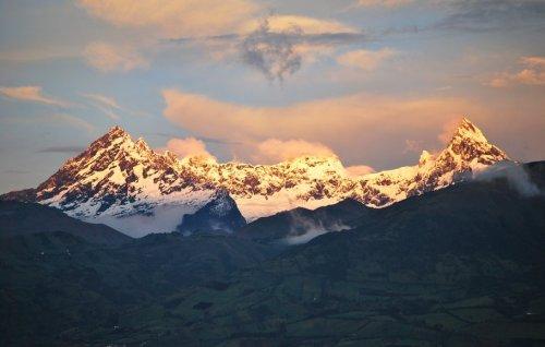 Volcán El Altar en Riobamba, Ecuador