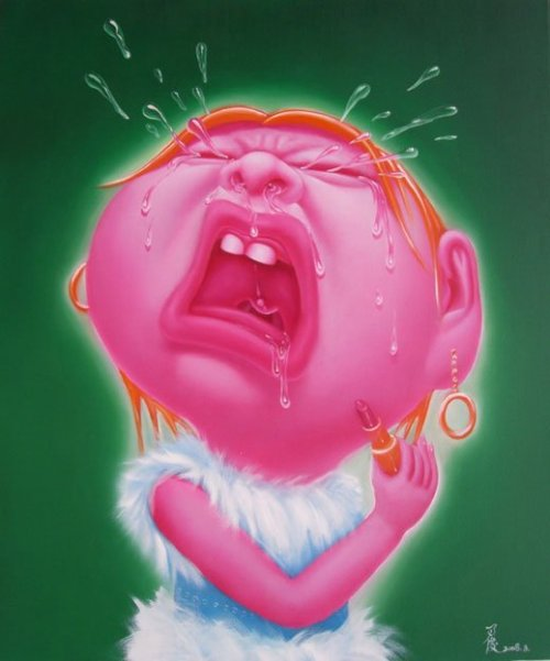 Yin Jun - bebé llorando - imagen de cuadernoderetazos.wordpress.com