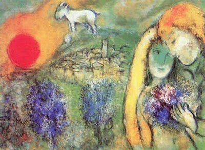 Marc Chagall - Amoureux de Vence