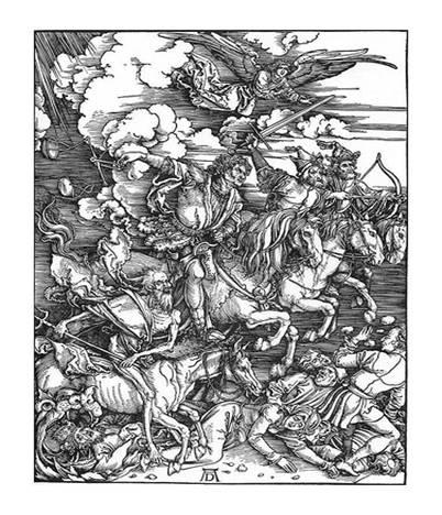 Albrecht Dürer, Los cuatro jinetes del Apocalipsis