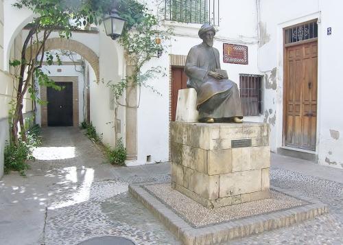 Plaza Tiberiades en el barrio judío, Córdoba