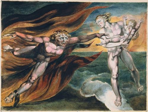 William Blake, Los Ángeles del Bien y del Mal