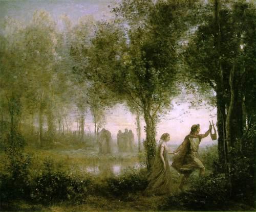 Corot - Orfeo de regreso de los infiernos