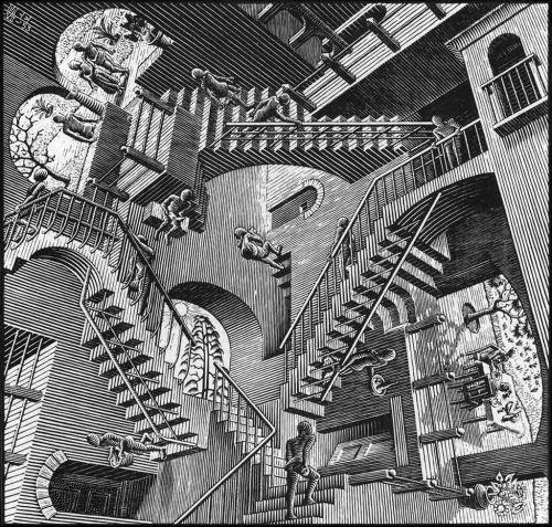 J.C. Escher - Relativity