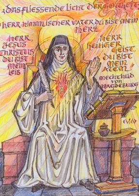 Señor, Padre celestial, tu eres mi corazón - Señor, Jesucristo, tu eres mi cuerpo - Señor, Espíritu Santo, tu eres mi aliento (Initiativkreis Kloster_Helfta.e.V.Durach_mitte)