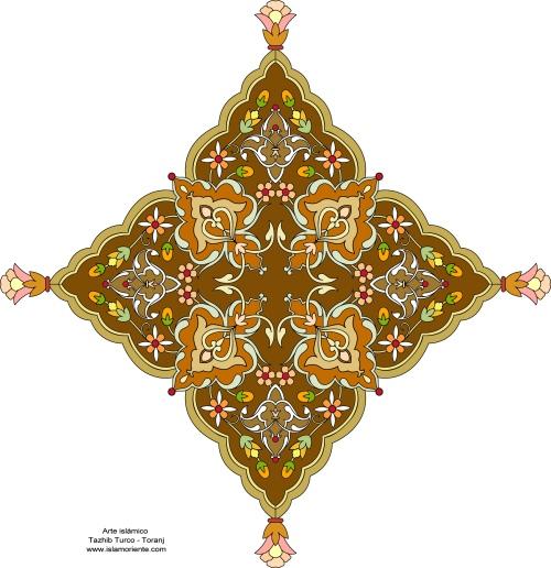 Arte_islámico_–_Tazhib_Turco_-Toranj-54_2