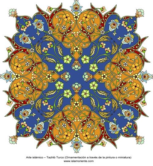 Arte_islámico_–_Tazhib_Turco_(Ornamentación_a_través_de_la_pintura_o_miniatura)-18 (2)