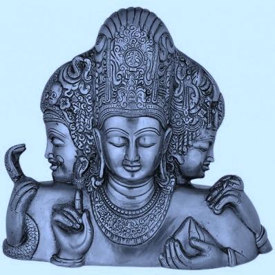 Brahma Vishnú Mahesh Trimurti