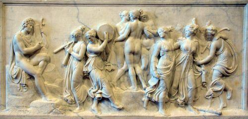 Thorvaldsen - Danza de las Musas