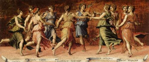 Baldassarre Peruzzi -Apollo y las Musas