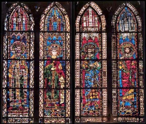 Vitral de la Catedral de Estrasburgo