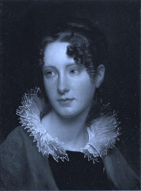 Rembrandt Peale (1778-1860) - Retrato de Rosalba Peale