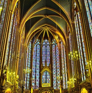 Sainte-Chapelle-Interior