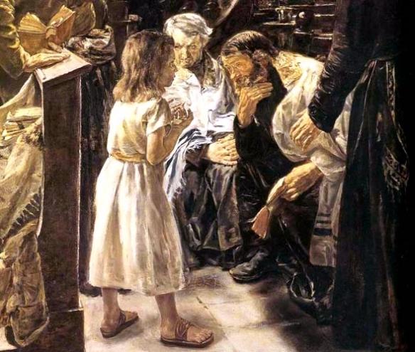 19 LIEBERMANN JESUS AU TEMPLE A L AGE DE 12 A