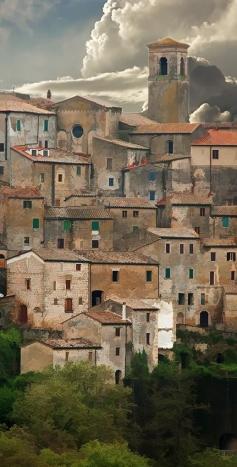 Toscana, Sorano